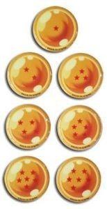 DRAGON BALL Z Dragon Ball Puffy Stickers