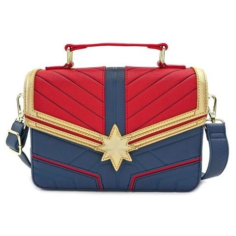 Marvel Captain Marvel Cross Body Bag Loungefly