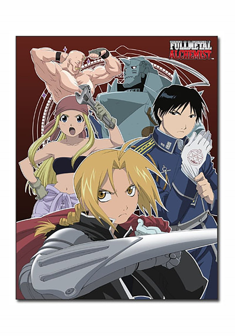 FULL METAL ALCHEMIST FMA SUBLIMATION THROW BLANKET