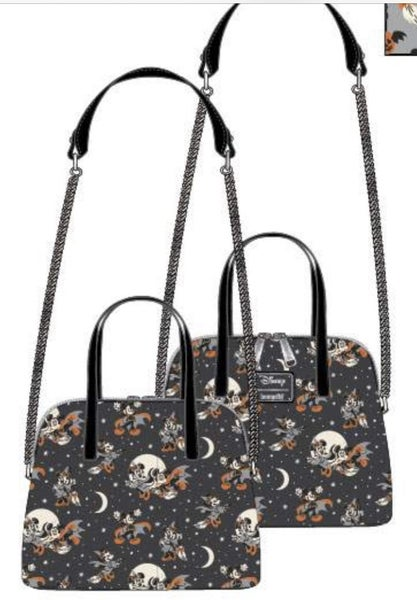 Mickey Halloween AOP Crossbody [PRE-ORDER - SEPTEMBER DELIVERY] LOUNGEFLY