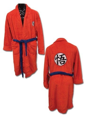 Dragon Ball Z Goku Bath Robe