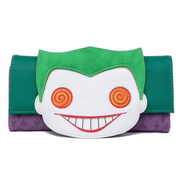 DC Joker Eyes Wallet POP by LOUNGEFLY