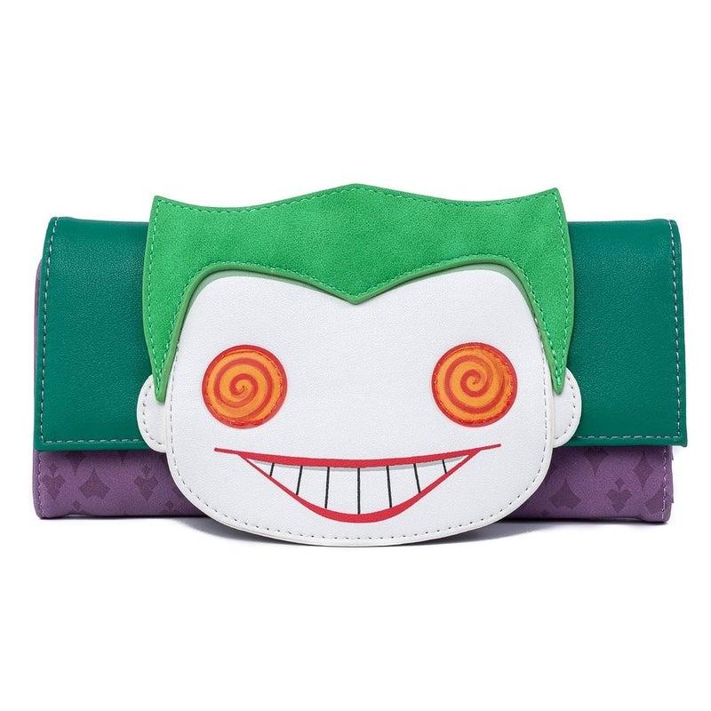 DC Joker Eyes Wallet POP by LOUNGEFLY
