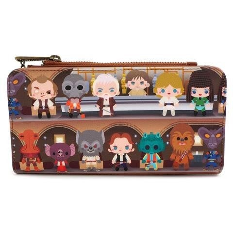 Star Wars Cantina Wallet Loungefly