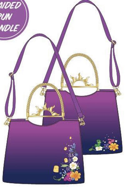 Rapunzel Floating Lights CROSSBODY Loungefly PRE-ORDER Nov/Dec