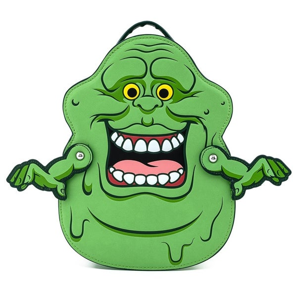 Ghostbusters Slimer Convertible Mini Backpack and/or Wallet Loungefly