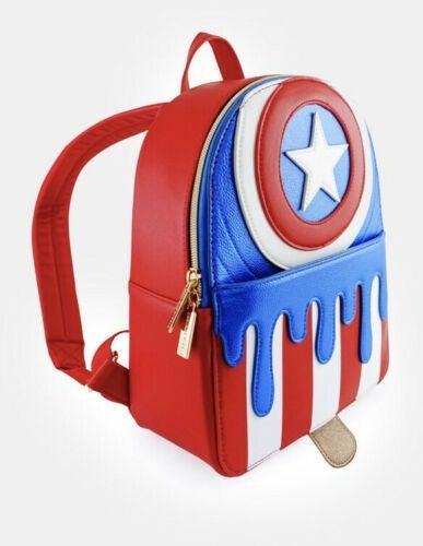 Captain America Melty Popsicle Ice Cream Mini Backpack Danielle Nicole