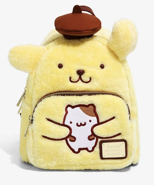 Pompompurin Cosplay mini Backpack Sanrio Loungefly