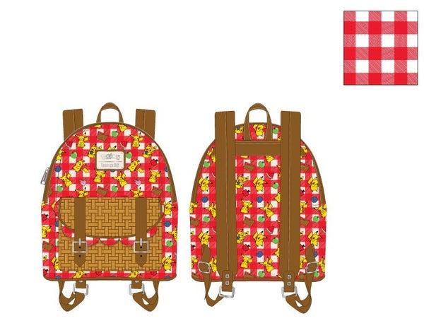Pikachu Picnic Basket Mini Backpack - Pre-order Late February