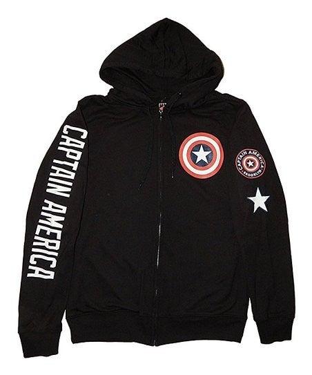 Captain America Hoodie Zipper