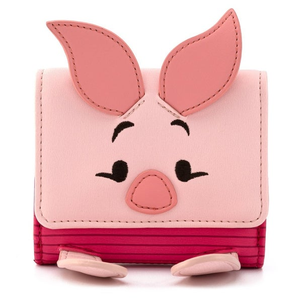 Winnie the Pooh Piglet Flap Wallet Loungefly