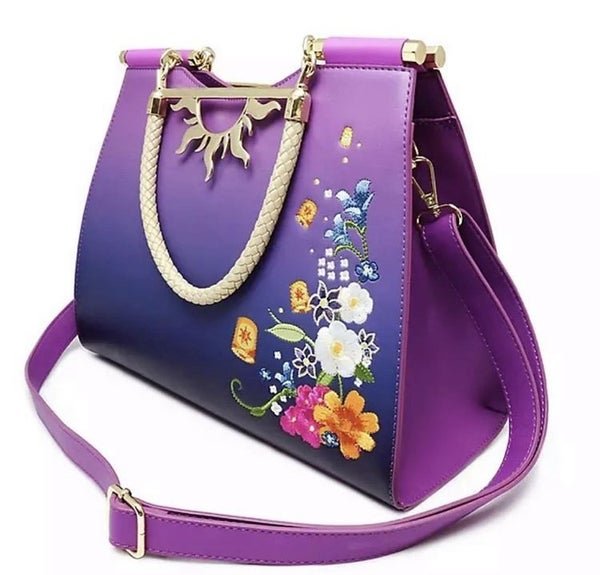 Rapunzel Floating Lights CROSSBODY Loungefly