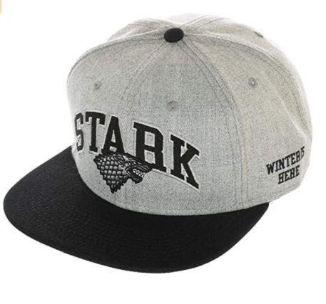 Game of Thrones House Stark Collegiate Snapback Hat