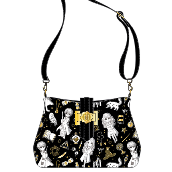 Harry Potter Magical Elements Crossbody Bag Loungefly PRE-ORDER expected late May