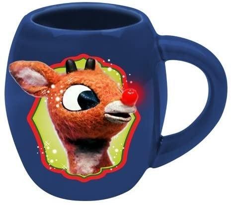 "Rudolph ""Holly Jolly"" 18 oz Oval Ceramic Mug"