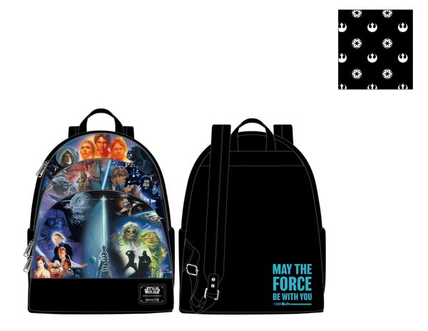 Star Wars Original Trilogy Mini Backpack Loungefly PRE-ORDER