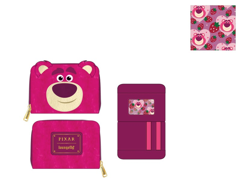 Lotso Pixar Cosplay Wallet Loungefly PRE-ORDER expected late May
