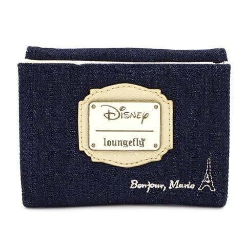 Marie Denim Wallet Disney Loungefly