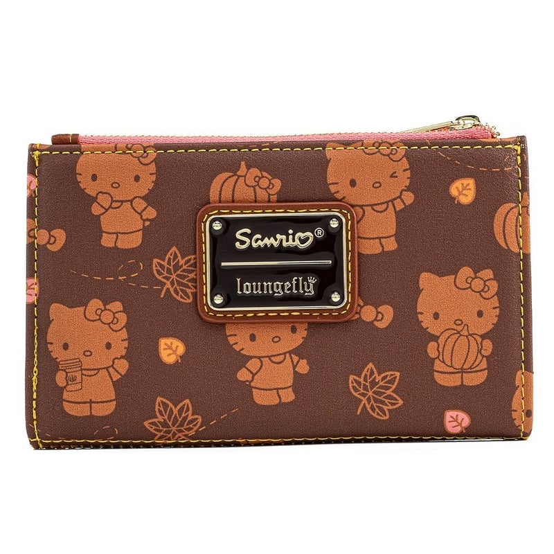 Hello Kitty Pumpkin Spice SET, MINI BACKPACK or WALLET options LOUNGEFLY