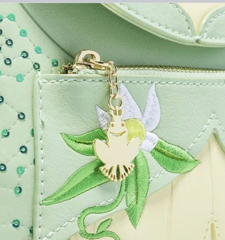 Tiana Cosplay Mini BACKPACK or WALLET options Loungefly