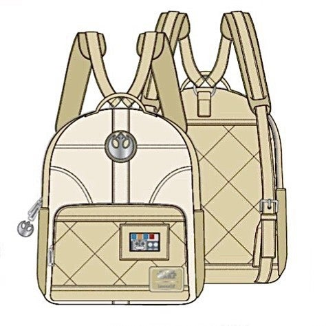 Princess Leia Hoth SET, MINI BACKPACK or WALLET options [PRE-ORDER - OCTOBER DELIVERY] LOUNGEFLY