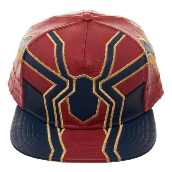 Avengers: Infinity War Iron Spider PU Suit Up Snapback Cap