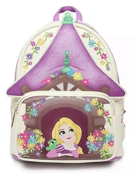 Tangled Tower Scene Mini BACKPACK Loungefly
