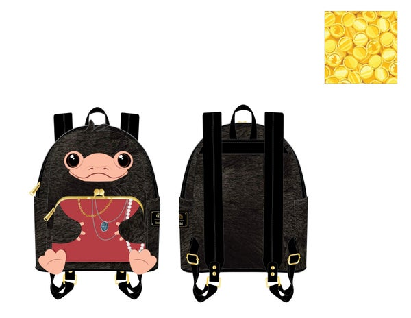 Fantastic Beast Niffler Plush Cosplay Mini Backpack  Loungefly