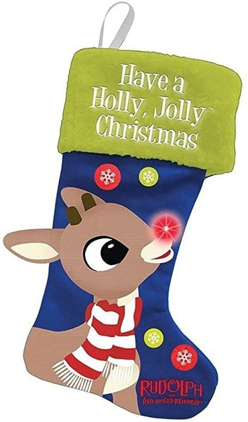 Rudolph LED Stocking