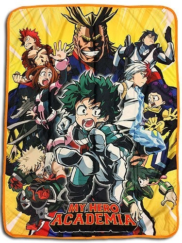 MY HERO ACADEMIA GROUP THROW BLANKET
