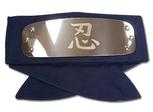 NARUTO SHIPPUDEN SHINOBI HEADBAND Officially Licensed