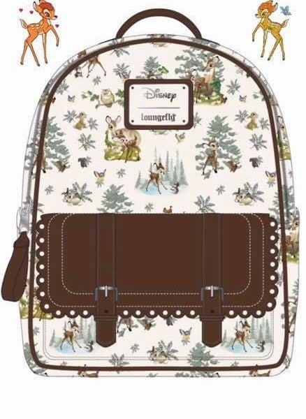 Bambi Scenes Disney Mini Backpack Loungefly PRE-ORDER Delivery DELAYED expected MARCH
