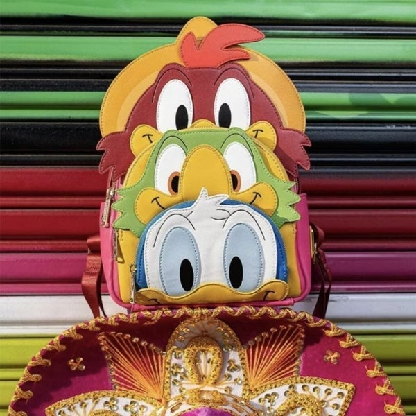 Disney The Three Caballeros Mini Backpack Loungefly