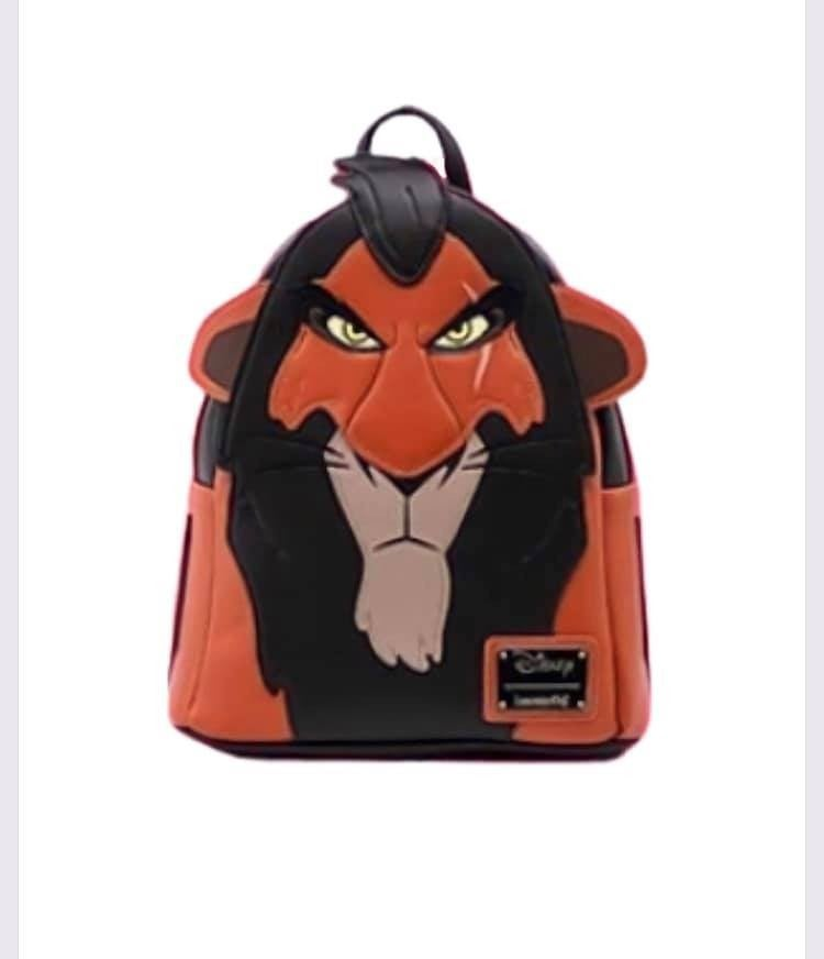 Scar Mini Backpack The Lion King Loungefly