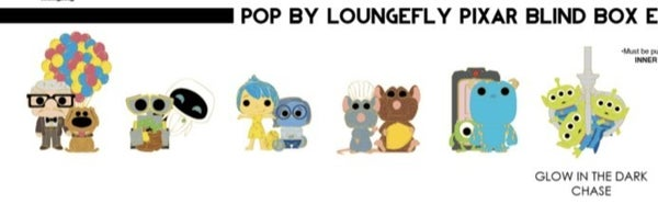 PIXAR BLIND BOX ENAMEL PINS POP BY LOUNGEFLY PRE-ORDER for August