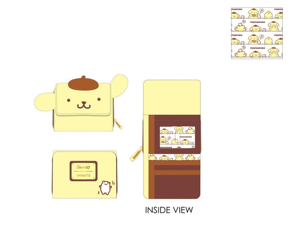 Pompompurin Cosplay Wallet Sanrio Loungefly PRE-ORDER expected late March