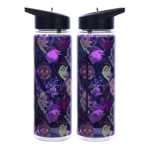 Disney Villains Multi-Character 24 oz. UV Single-Wall Water Bottle