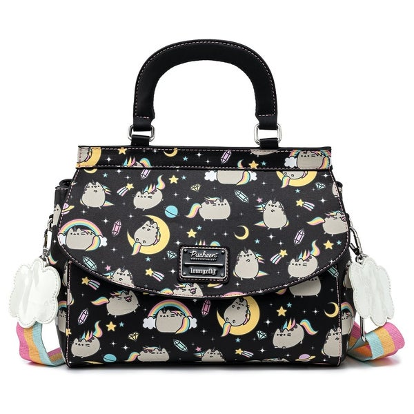 Pusheen Rainbow Unicorn Crossbody Loungefly
