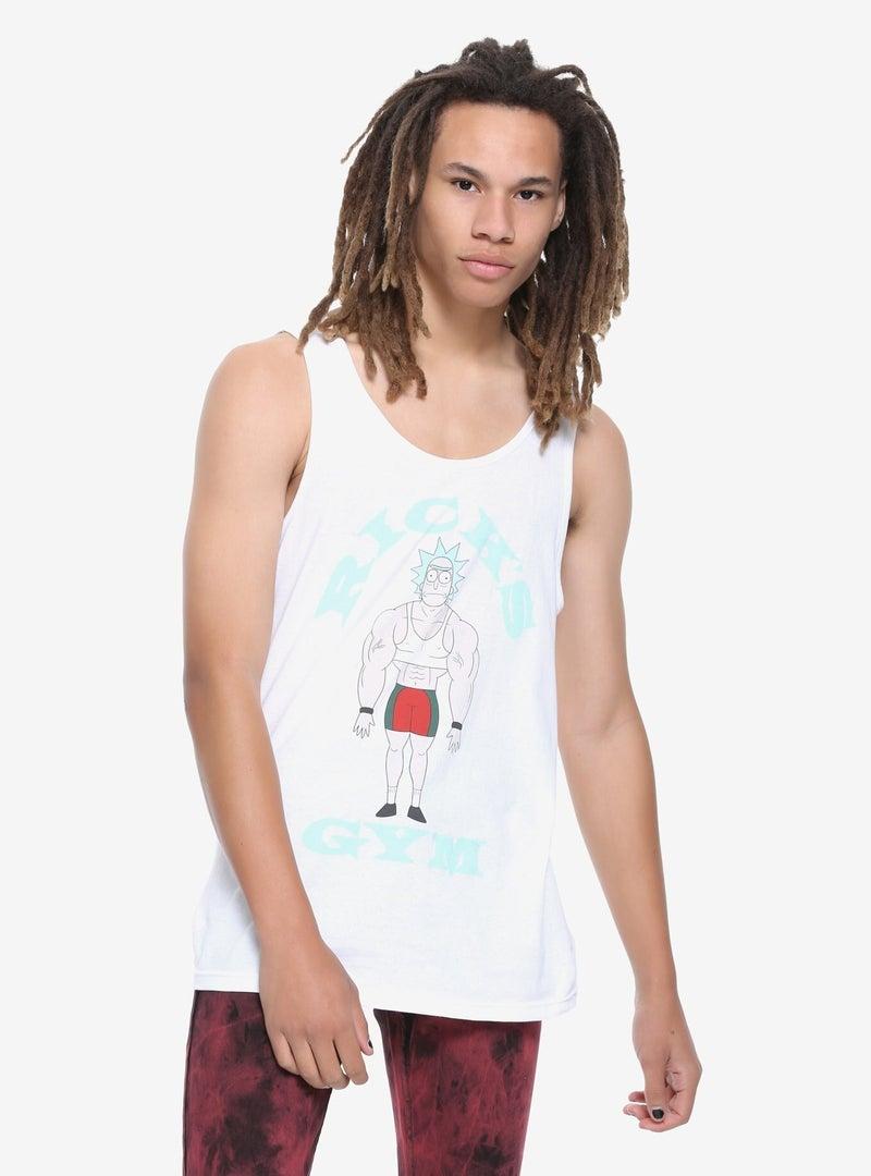 Rick and Morty Ricks gym tank top