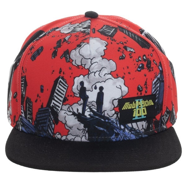 Mob Psycho AOP Sublimated Snapback Cap