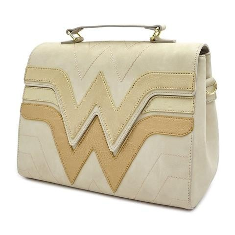 Wonder Woman Crossbody Die-cut Quilted DC Comic Loungefly