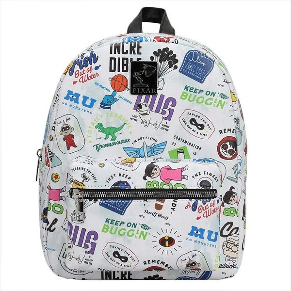 Pixar Icon Toss AOP Print Mini Backpack Bioworld