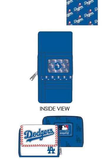 PREORDER Loungefly MLB LA Dodgers seam stitch wallet Expected late June