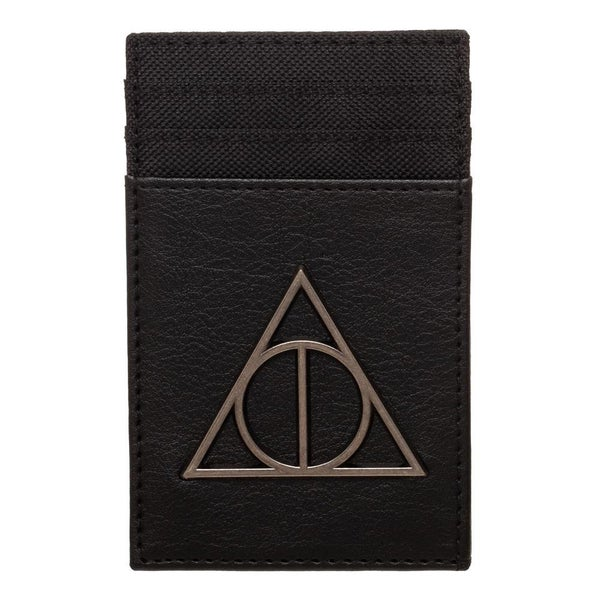 Harry Potter Deathly Hallows Diecut Badge Frontpocket Wallet
