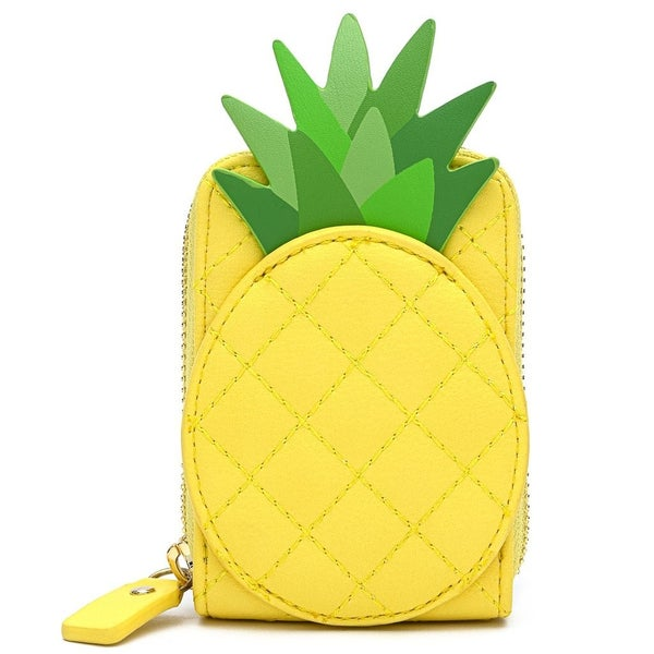 Pool Party Pineapple Accordion Wallet Loungefly
