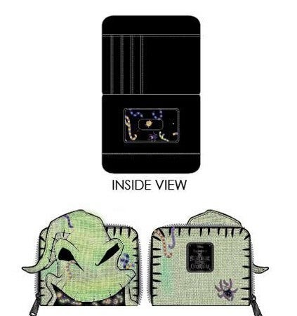 Oogie Boogie Creepy Crawlies Wallet PRE-ORDER shipping August Loungefly