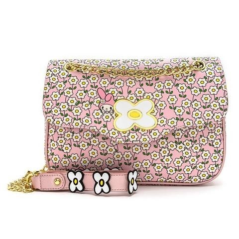 SANRIO: MY MELODY Flower Field Crossbody Bag  LOUNGEFLY Hello Kitty