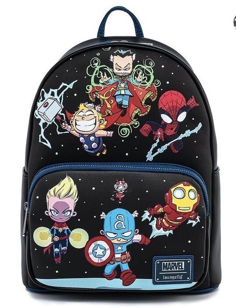 Marvel Chibi Group Mini Backpack Loungefly
