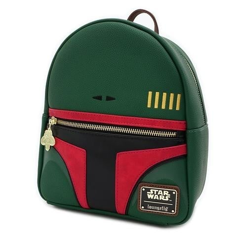 Star Wars Boba Fett Loungefly Convertible Mini Backpack