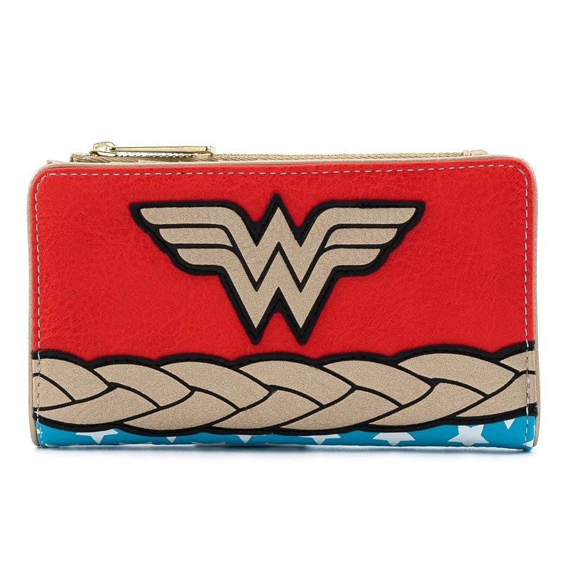Wonder Woman Vintage Cosplay Mini Backpack, Wallet or Set Loungefly DC Comics